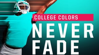 Show your college colors never fade on College Colors Day, August 30.