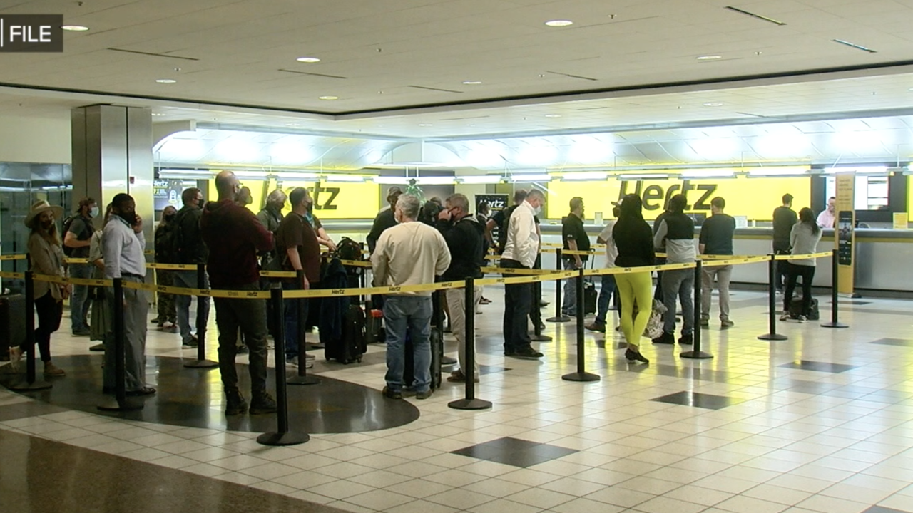 Rental car companies dealing with shortages