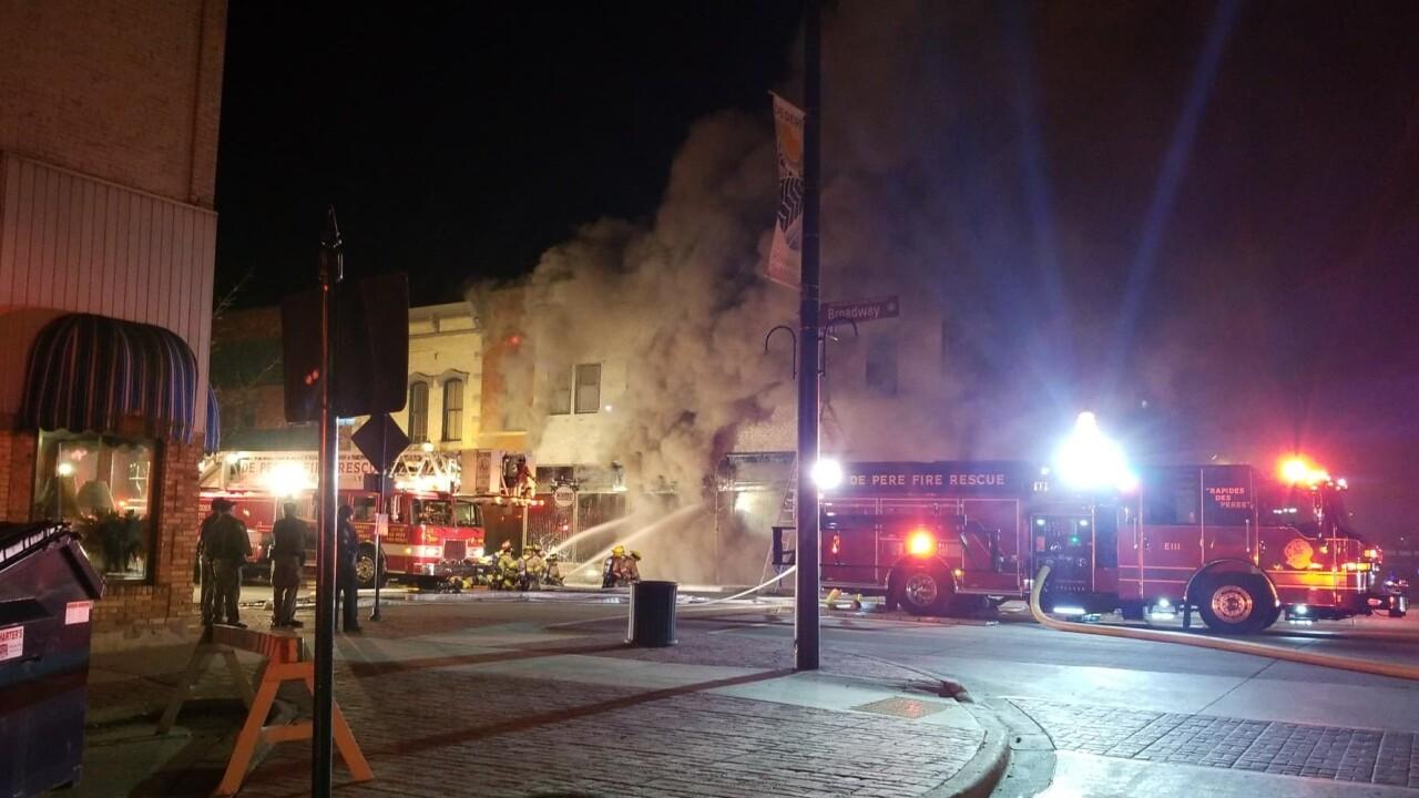 De Pere Structure Fire