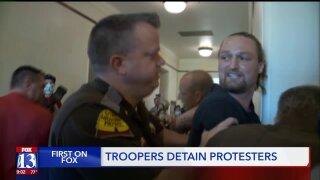 Protesters disrupt Inland Port boardmeeting