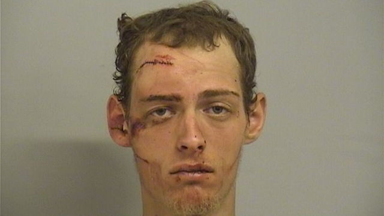 Man arrested in pursuit that ended downtown