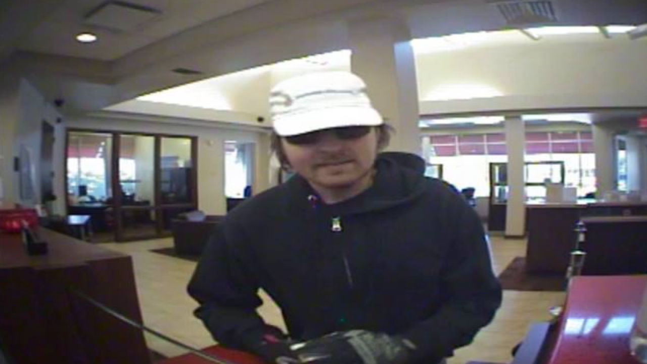 Police seek suspect in West Seneca bank robbery