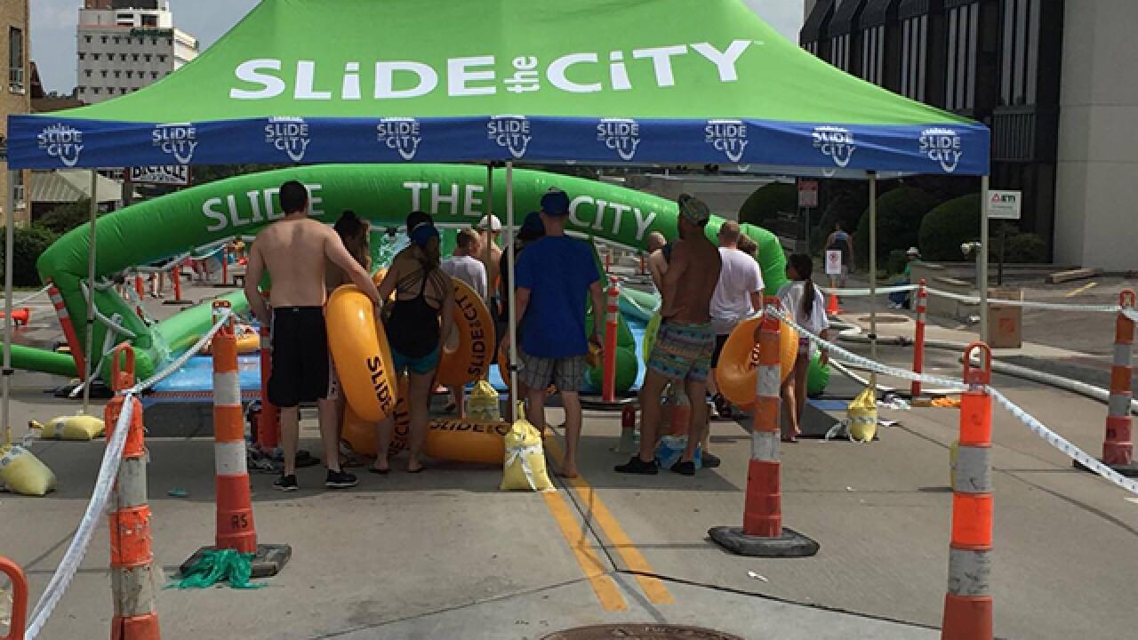 PHOTOS: Slide the City returns to Tulsa