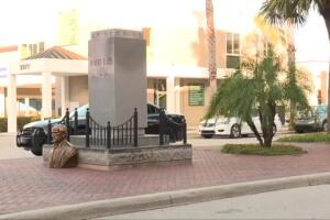 Robert E. Lee monument in Fort Myers vandalized