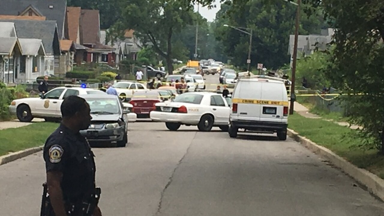 Person found dead in street on Indy's east side
