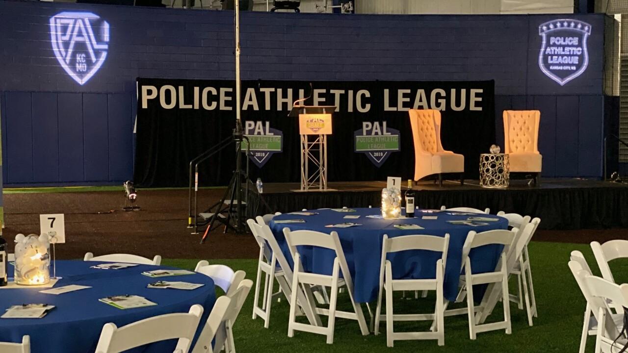 Police Athletic League fundraiser