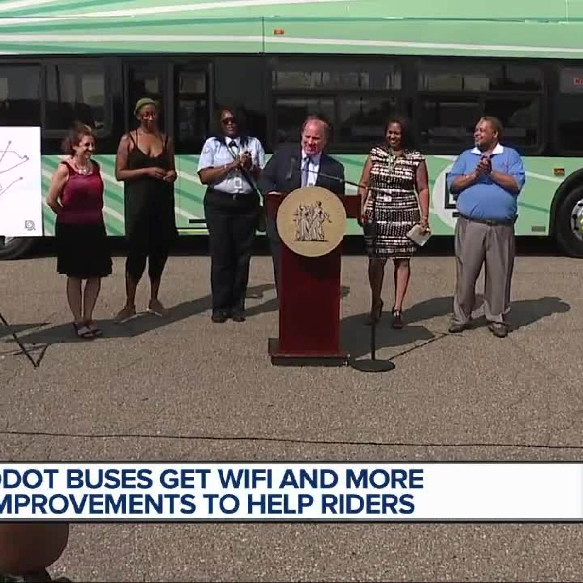 new ddot bus service will add 500 trips per week, buses with wifi