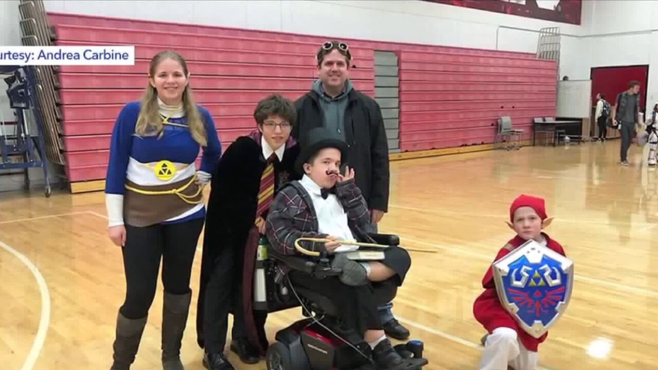 Disabled teen hoping for return of custom wheelchair after it was stolen inSLC