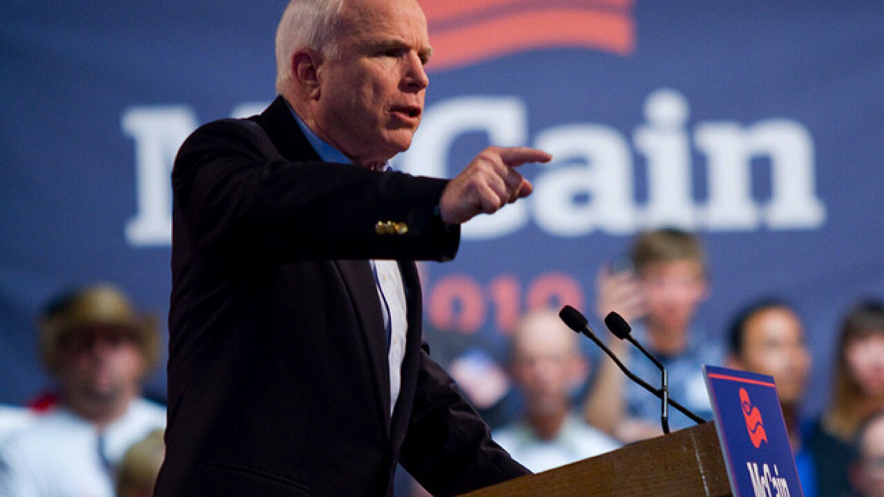 Senator John McCain: Take a look at a timeline of the Arizona Senator's life