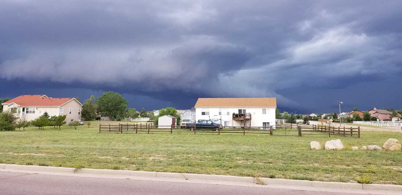 August 8 severe storm