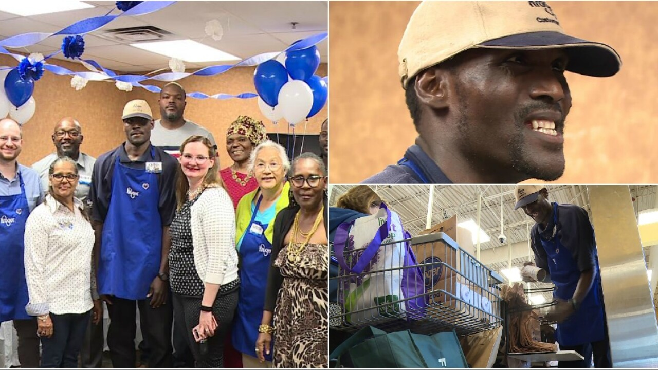 Beloved Willow Lawn Kroger employee will 'do anything for anybody' with asmile