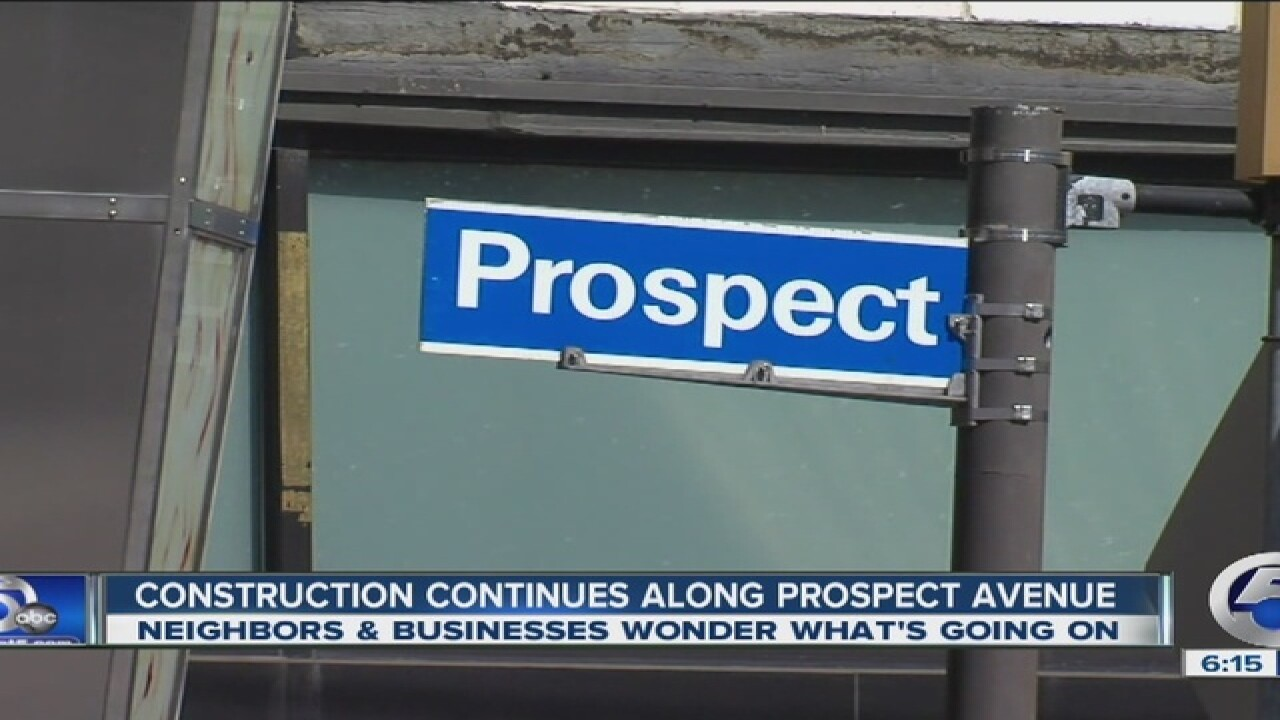 Is Prospect Avenue construction a headache?
