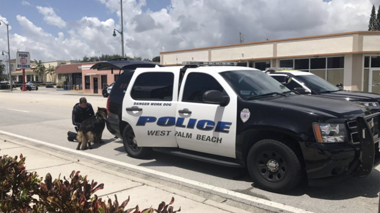 2 men arrested after West Palm Beach robbery, police chase