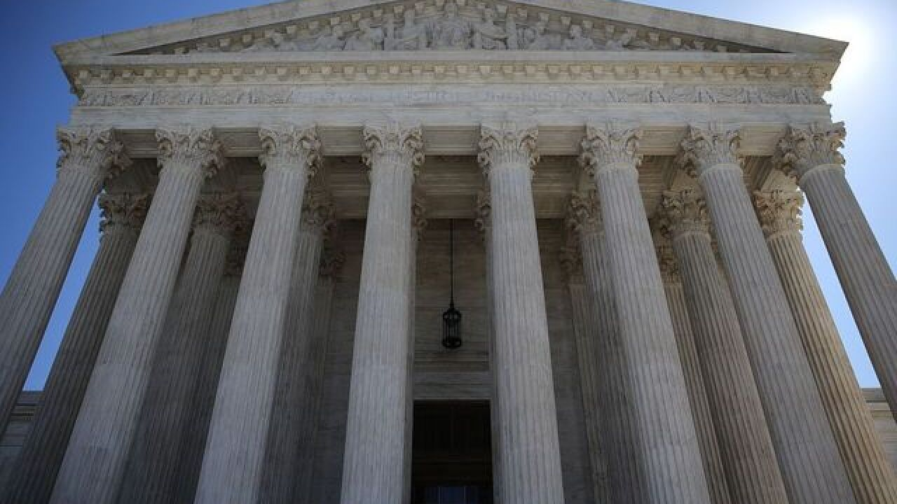 Down by 1, deciding is hard for Supreme Court