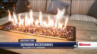 Outdoor accessories from Watson's spruce up your backyard