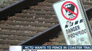 NCTD wants to fence in coaster tracks