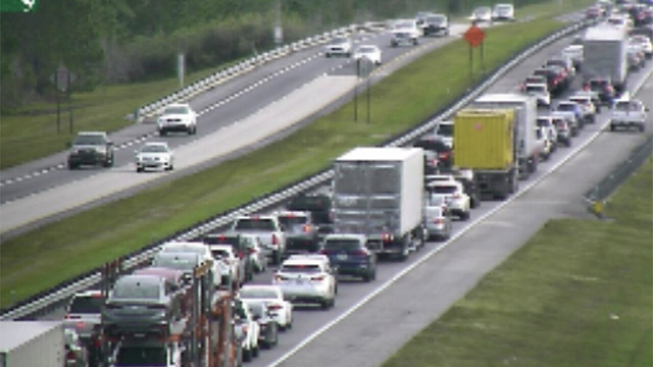 Turnpike crash causes delays in Osceola Co.