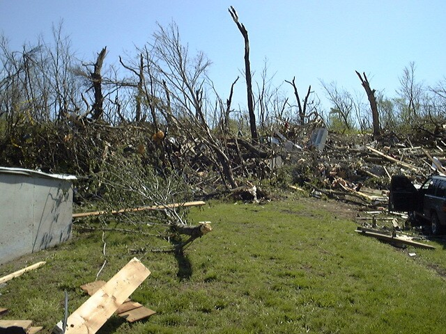 PHOTOS: May 4, 2003 tornado damage in KCK, Liberty