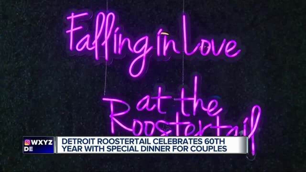 Roostertail celebrates anniversary with couples