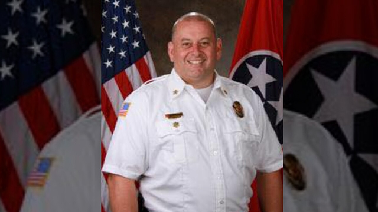 La Vergne Fire Chief To Be Laid To Rest
