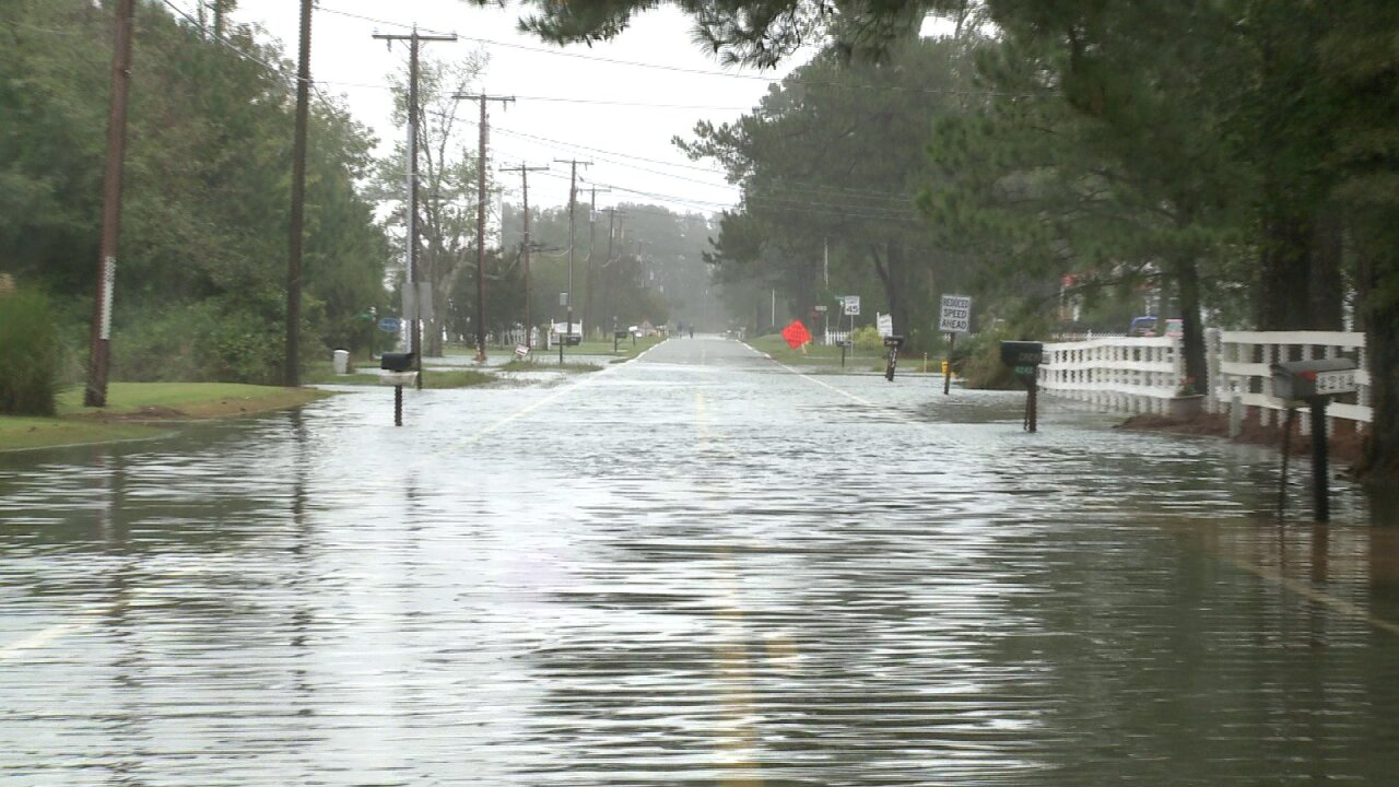 Northern Neck flooding has worsened with each tide cycle, official says