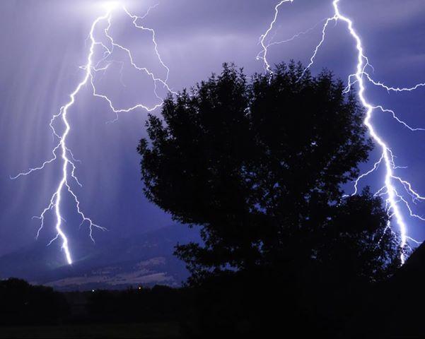 Stevensville Lightning Aug. 19