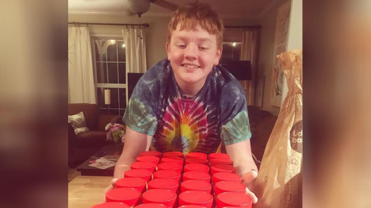 Virginia teen with autism won a lifetime supply of peanut butter. Now he's giving it away to furloughed workers.