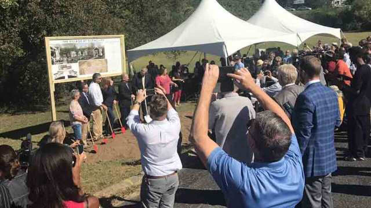 Group Breaks Ground On Tiny Village For Homeless