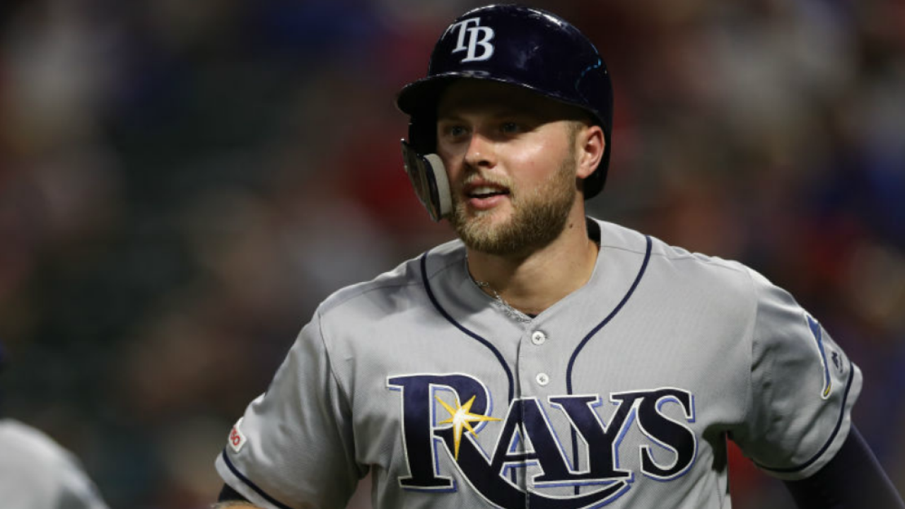 Austin Meadows Tampa Bay Rays 9-10-2019