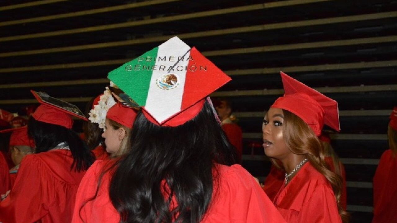 UNLV professor looks at graduation cap designs
