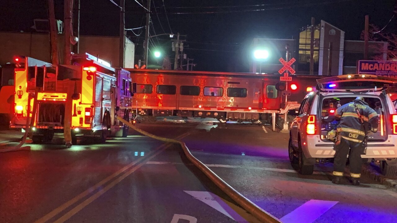 3 people are dead after their car was hit by two NY trains going in opposite directions