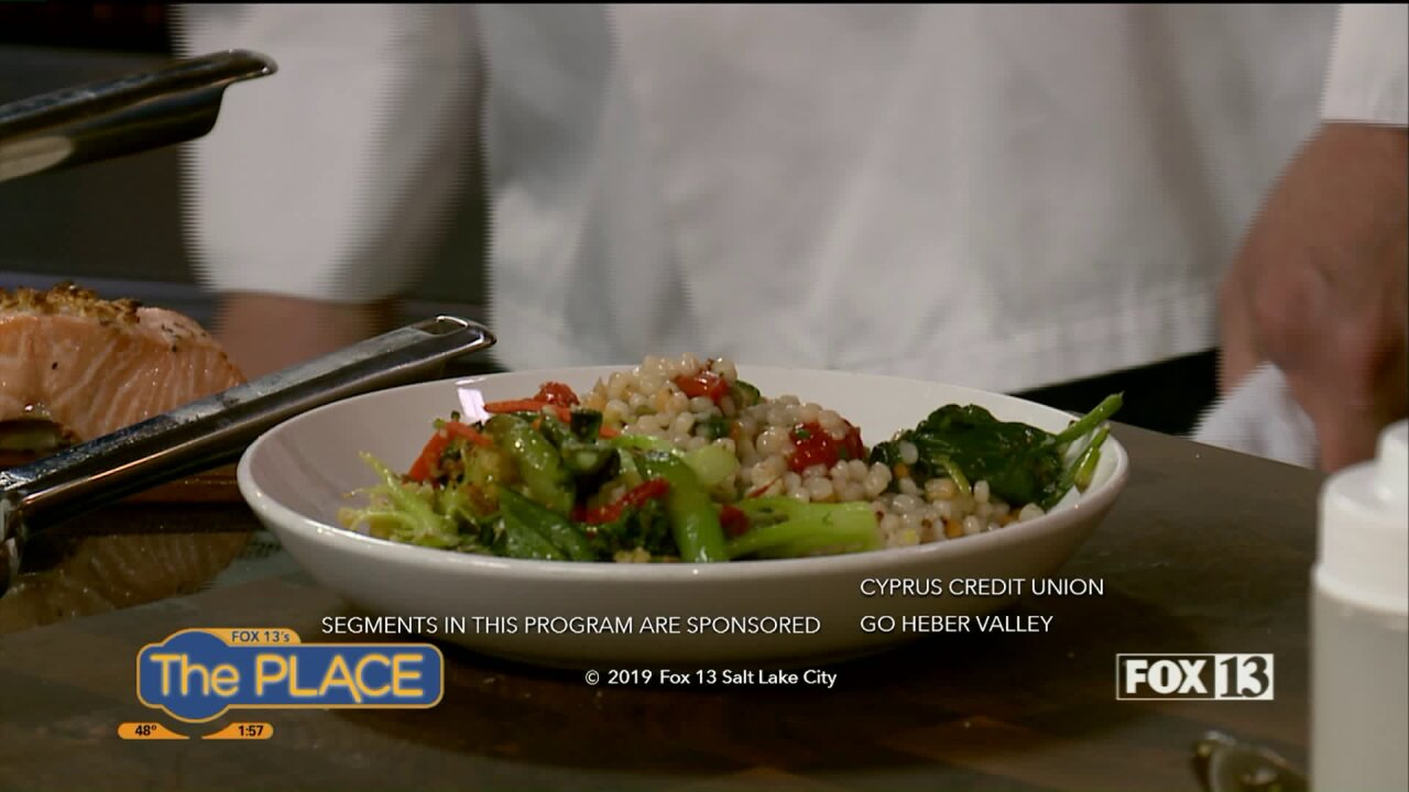 Cedar Plank Salmon recipe gives us a taste of Heber Valley RestaurantWeek