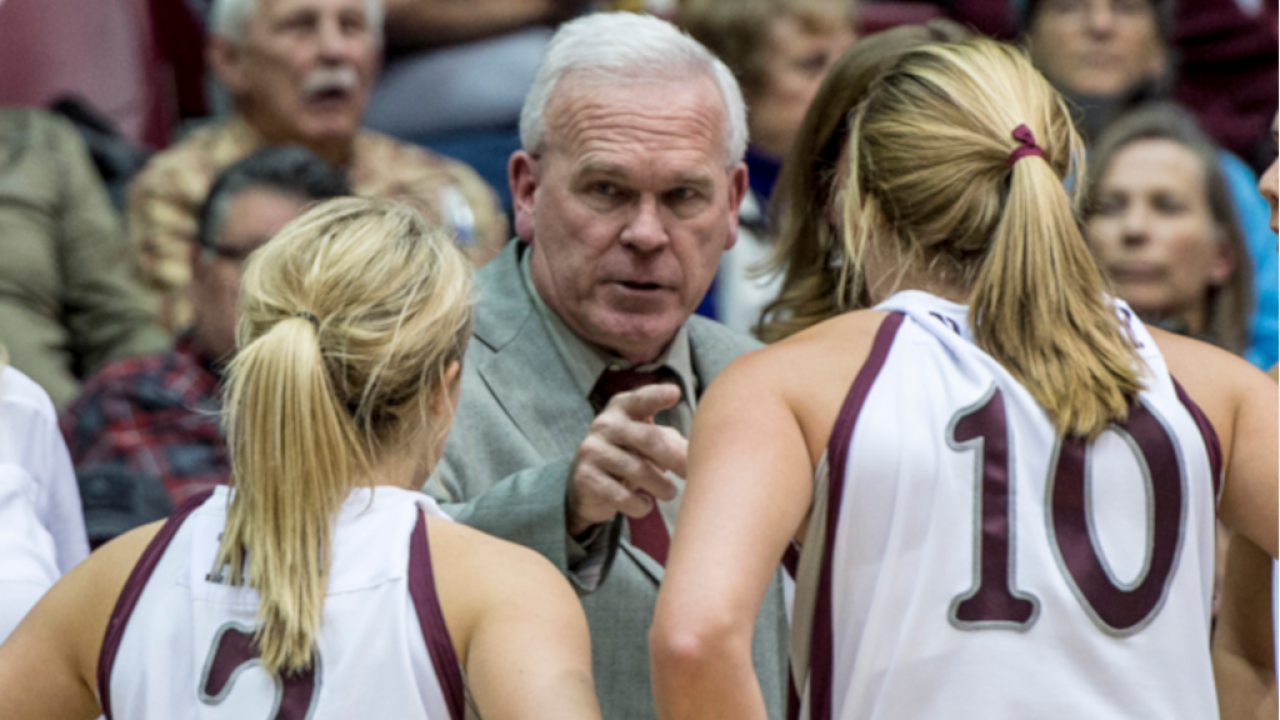 University of Montana women's basketball coach Robin Selvig announces his retirement