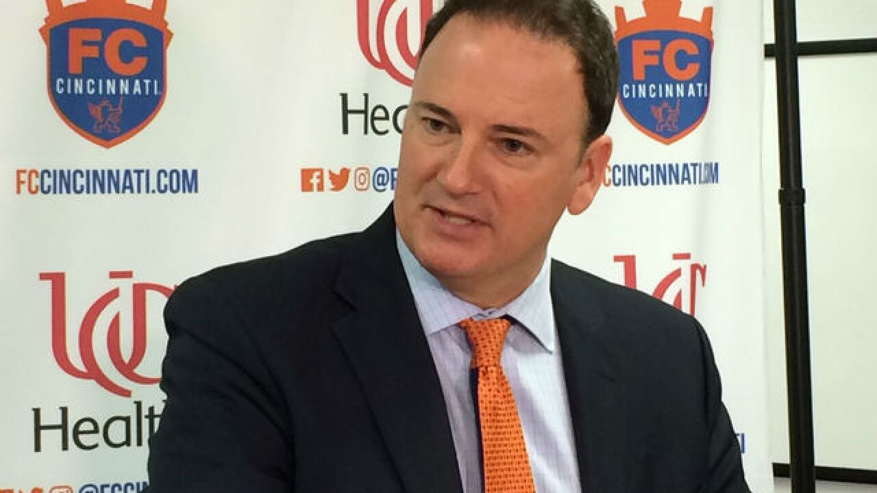MLS expected to invite FC Cincinnati Tuesday