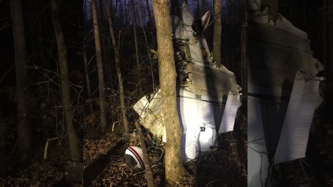 Single-Engine Plane Crashes In Barren County, Ky