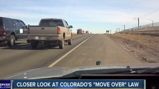 Driving You Crazy: Can I cross the double white line when heeding the move over law?