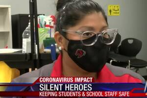 Silent heroes keeping students and school safe