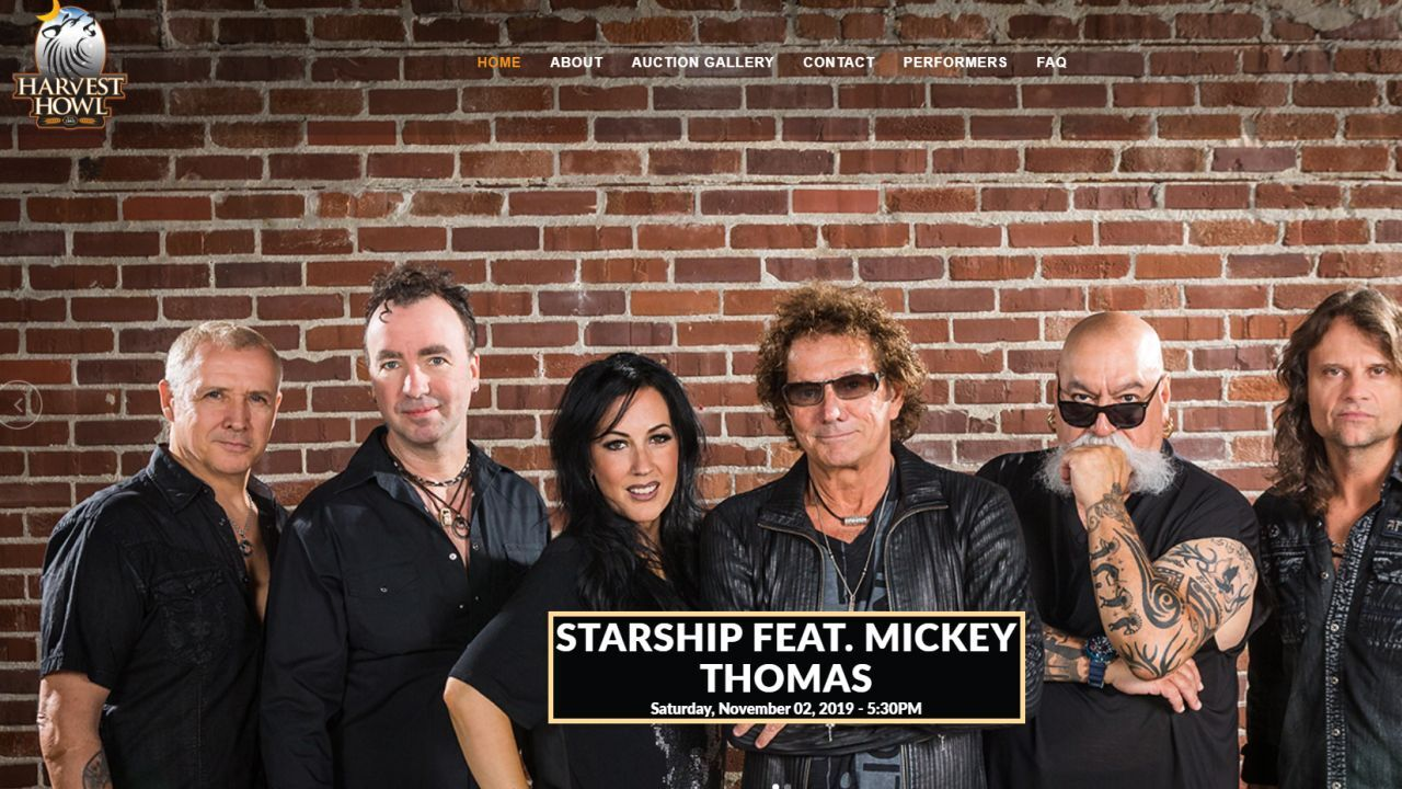 Starship featuring Mickey Thomas will perform at Harvest Howl