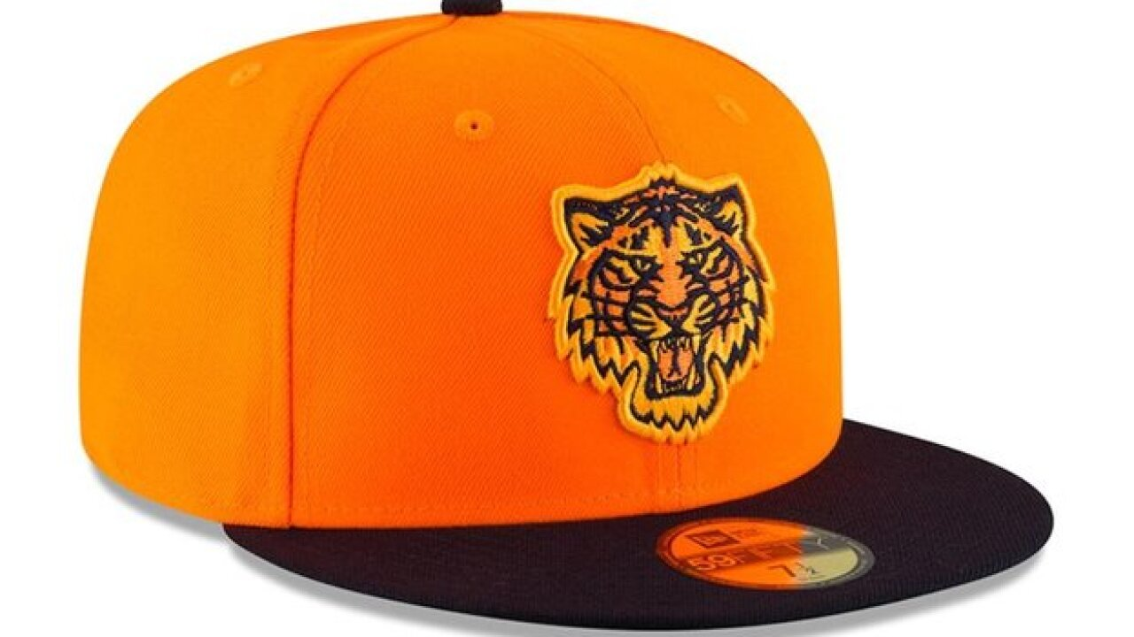 See the Tigers' hats and jerseys for Players' Weekend