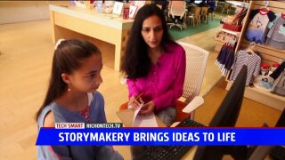 Tech Smart: Kids write their own books at store and online
