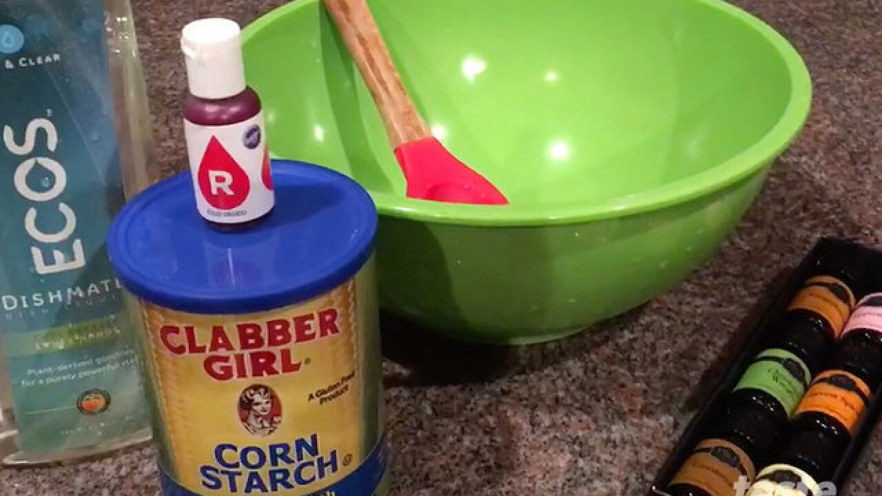 """How to make """"play-doh"""" soap"""