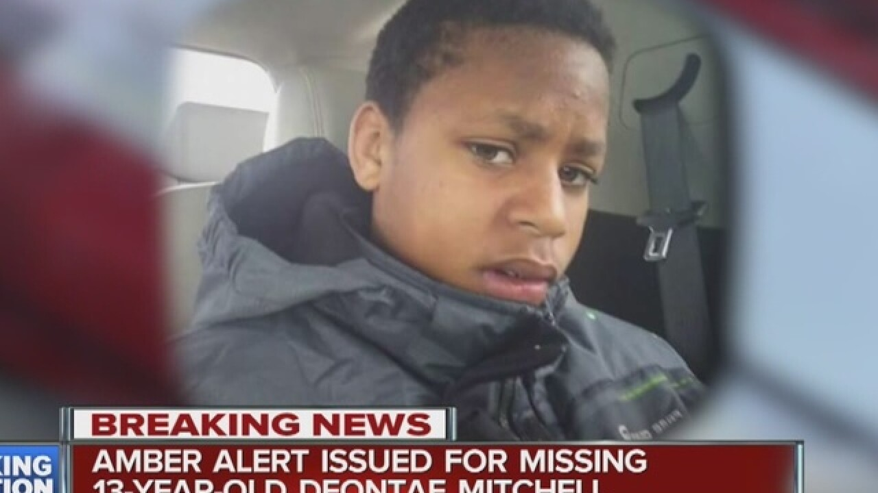 13 y.o. from Detroit may have been kidnapped
