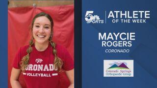 KOAA Athlete of the Week: Coronado's Maycie Rogers
