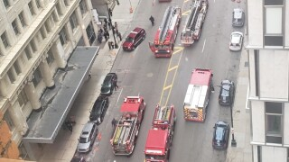 Penobscot Building fire