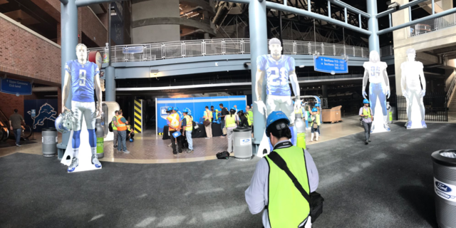 PHOTOS: Ford Field's $100M renovation