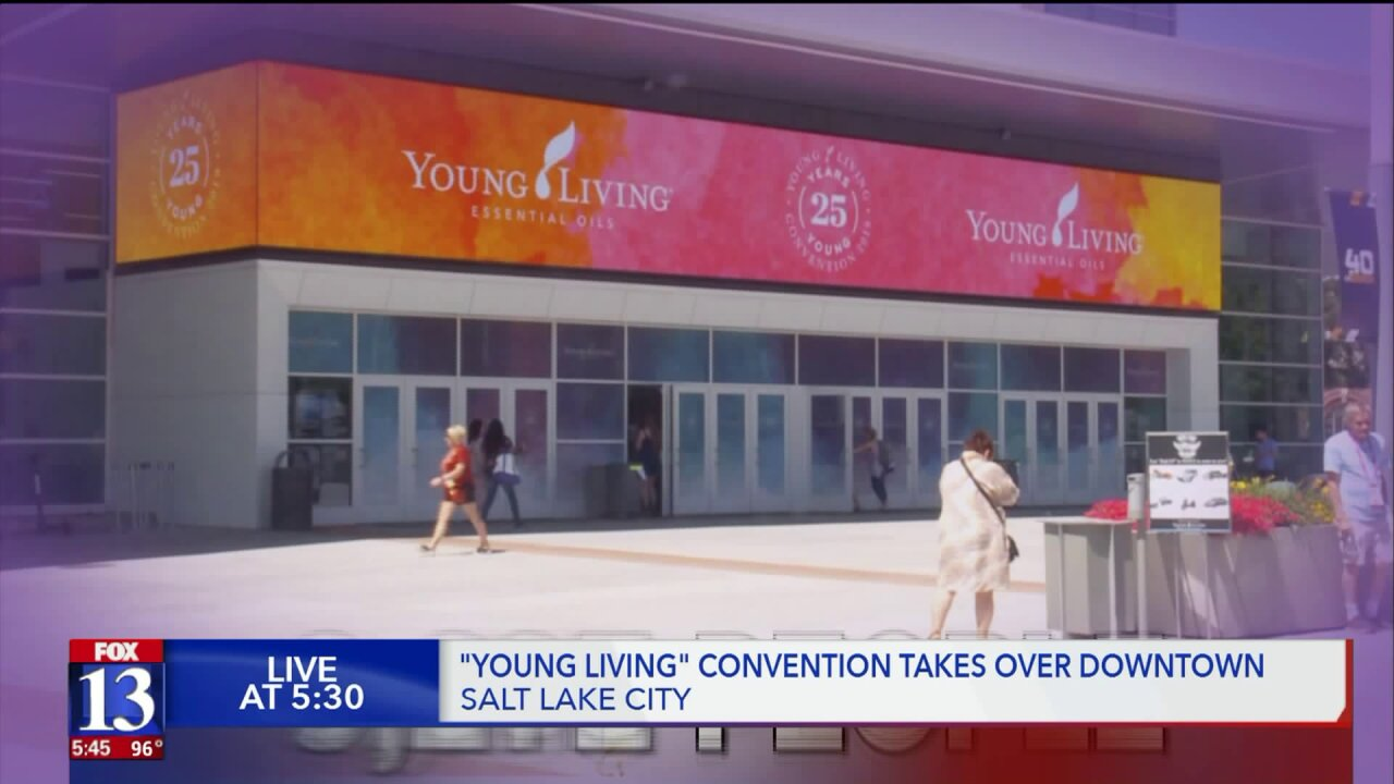 Massive essential oil convention projected to bring in millions of dollars to Utah'seconomy