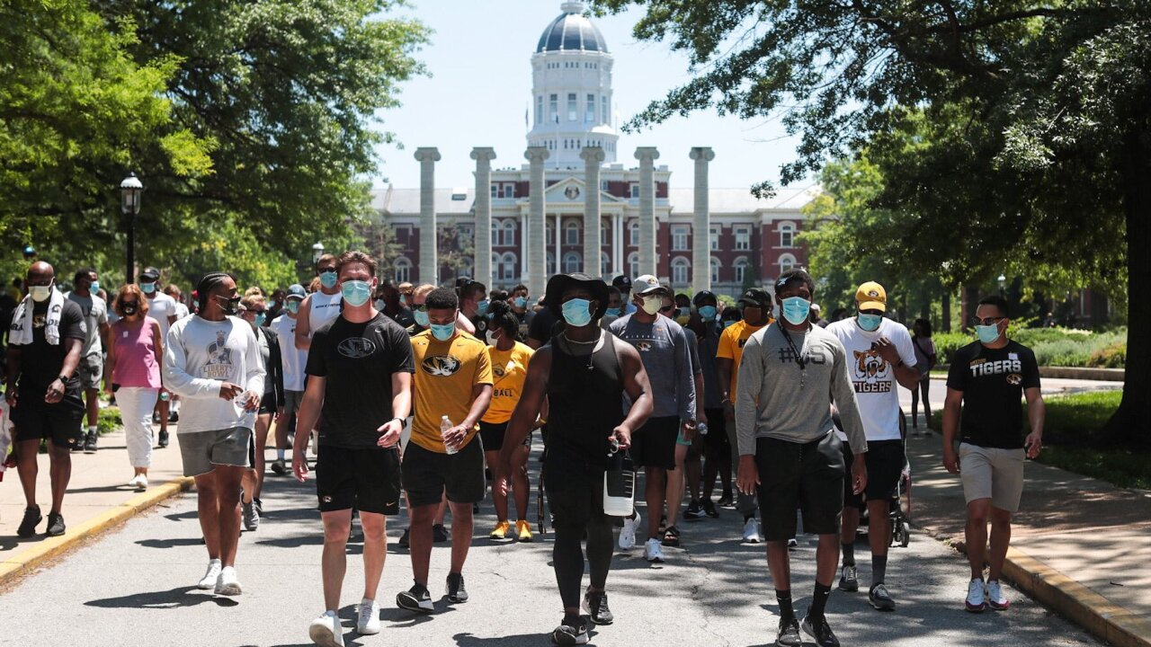 Mizzou football march