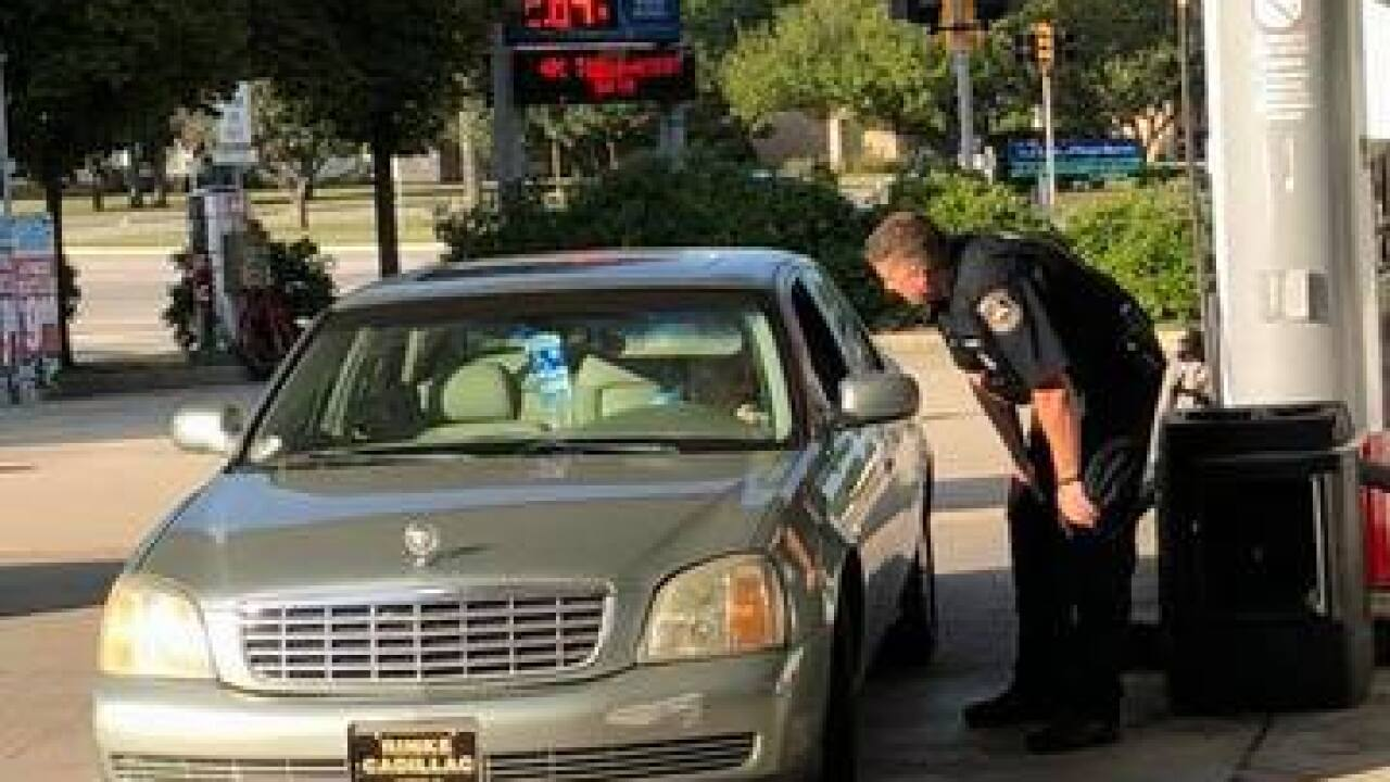 Officer buys gas for elderly woman who has fallen on hard times