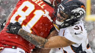 Broncos place franchise tag on safety Justin Simmons