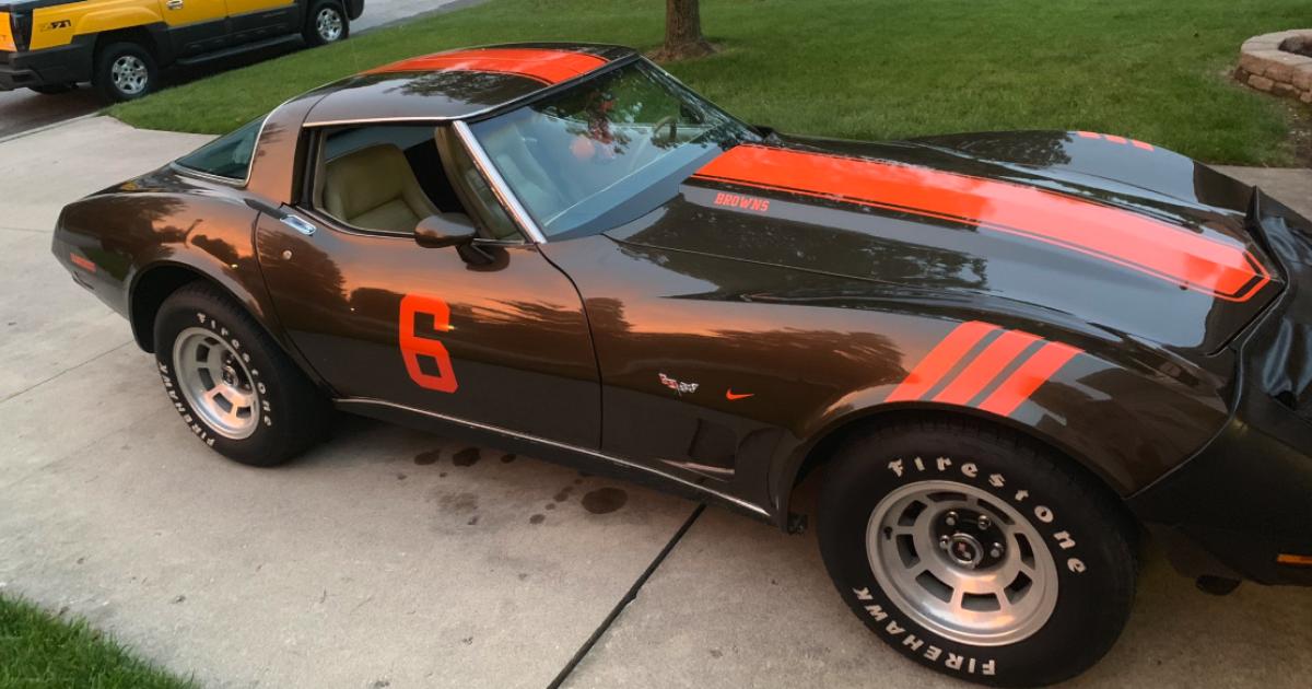 Feelin' Dangerous: Browns fan's custom Baker Mayfield Corvette